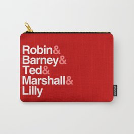 How I Met Your Mother Typography Carry-All Pouch