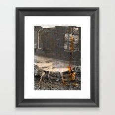 memory and perception 34 Framed Art Print