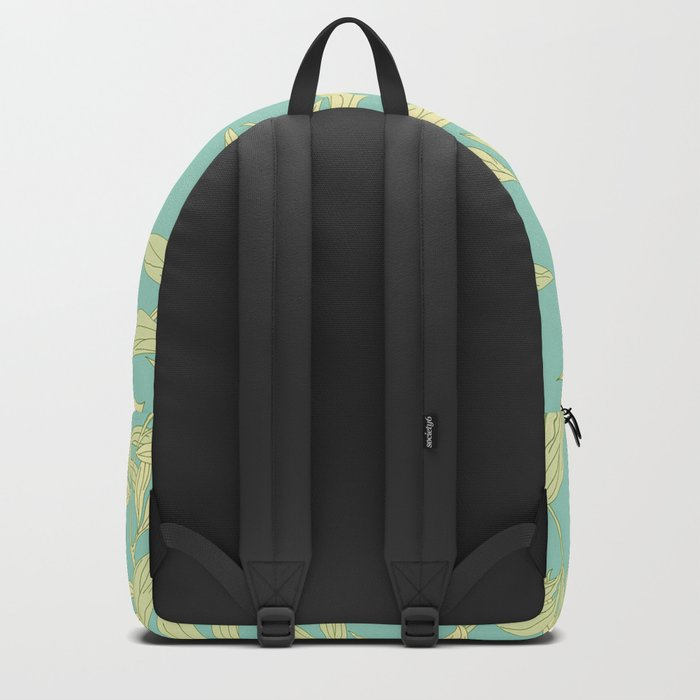 Yellow Leaves Backpack