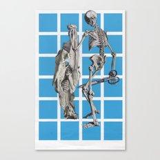 Laugh At Death Canvas Print