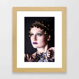 Gold Goddess II. Framed Art Print