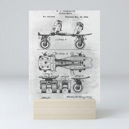 Roller Skate Mini Art Print