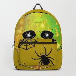 Spider Skull -  Happy Halloween Backpack