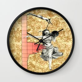 Take The  Leap Wall Clock