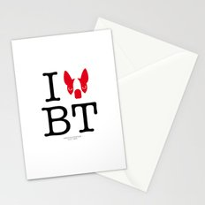 I ♥ BOSTON TERRIER Stationery Cards