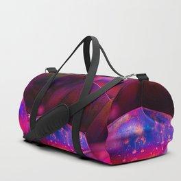 Fuschia Bubbles Duffle Bag
