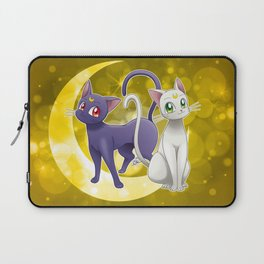 Luna & Artemis (Sailor Moon Crystal edit.) Laptop Sleeve