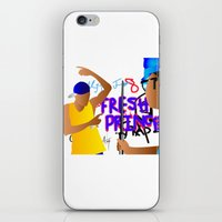 fresh prince iPhone & iPod Skins featuring Fresh Prince by Hannah  Aryee