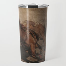 Break Away Rodeo Horse Travel Mug
