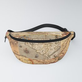 Old maps Fanny Pack