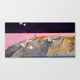 Nisja: the night train 11 Canvas Print