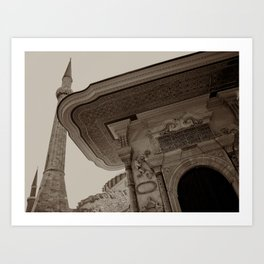 """Sultan Ahmed Mosque (""""Blue Mosque"""", Istanbul, TURKEY) Art Print"""