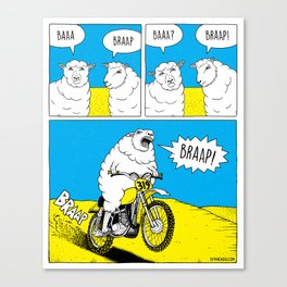 BRAAP Canvas Print