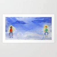 Art Print featuring Glow by Kate Solow