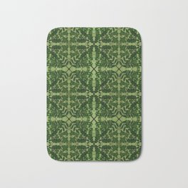 Ancient Wildwoods Tile Pattern Bath Mat