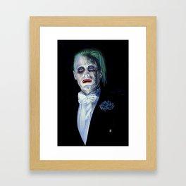 Joker Suicide Squad Framed Art Print