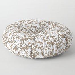 Beech Mushrooms Floor Pillow
