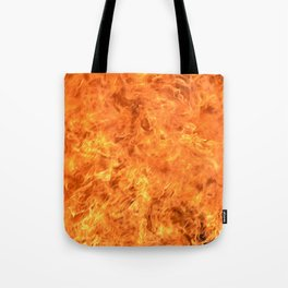 fire wall Tote Bag