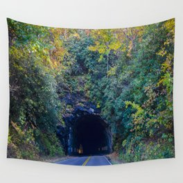 Dream tunnel  Wall Tapestry