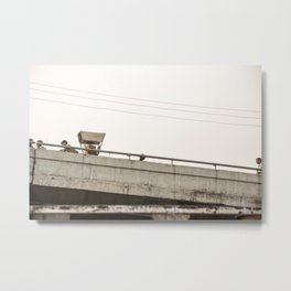 Agra Overpass Metal Print