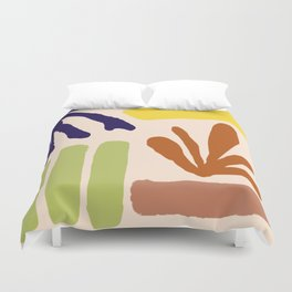 Color Study Matisse Inspired Duvet Cover