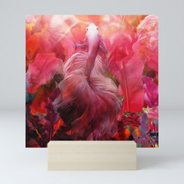 """Betta splendens Tropical Dream (Siam fighter)"" Mini Art Print"
