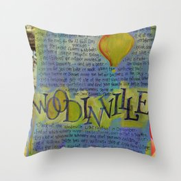 Woodinville, Washington Throw Pillow