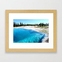 Bluer than the Sky Framed Art Print