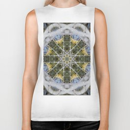 Fountain Mandala (#083c) Biker Tank