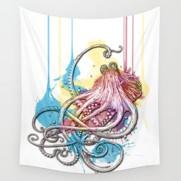 Octopus Ink Wall Tapestry