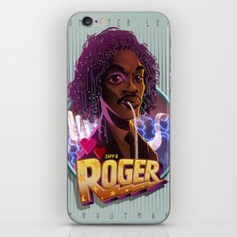 Roger troutman iPhone Skin