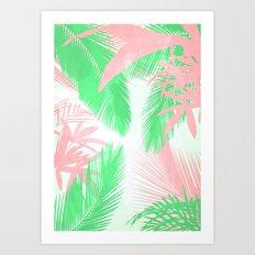 Tropical N Art Print