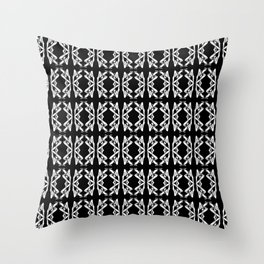 Shadowed Form Throw Pillow