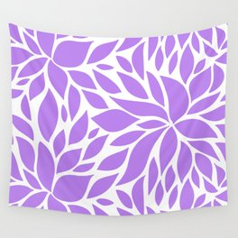 Bloom - violet Wall Tapestry