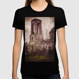 Church in ruins T-shirt