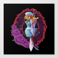 sword Canvas Prints featuring Sword by S.A.