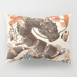Great Sushi Dragon Pillow Sham