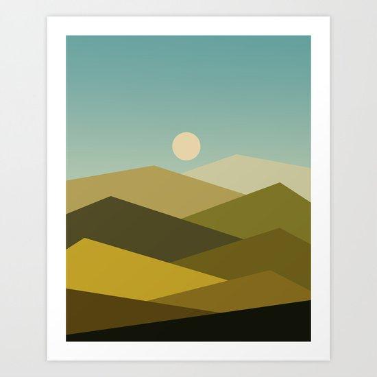 Landscape NC 02 Art Print