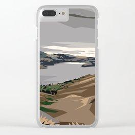 Cass Bay, New Zealand Clear iPhone Case