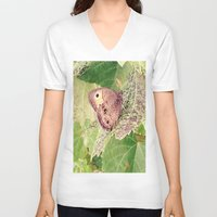 camouflage V-neck T-shirts featuring Camouflage by Stecker Photographie