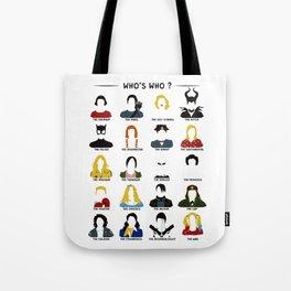 Who's who ? Tote Bag