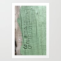 code Art Prints featuring Code  by Ethna Gillespie