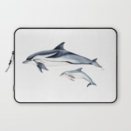 Striped dolphin Laptop Sleeve
