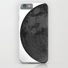 BLACK MOON iPhone Case