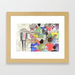 Ladies, Outshine Bullies! Framed Art Print