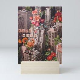 Save Home Mini Art Print