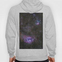 Lagoon and Trifid Nebula in Sagitarius Hoody