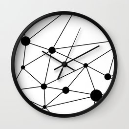 Minimalist Geometric 2 Wall Clock