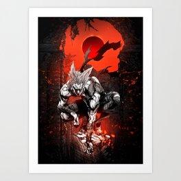 Garou Ninguen Kaiju Art Print
