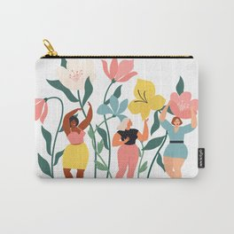 spring wild flowers Carry-All Pouch